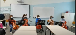 lezione violoncello open day